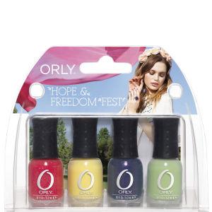 ORLY Hope and Freedom Fest - 4pc Mani Mini Kit