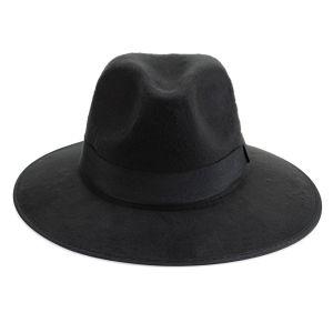 Impulse Women's Fedora Hat - Black