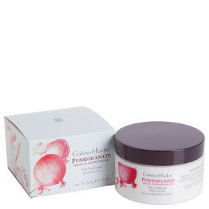 CRABTREE & EVELYN POMEGRANATE, ARGAN & GRAPESEED BODY CREAM (225G)