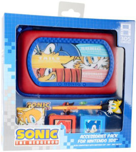 Sonic The Hedgehog: 6-in-1 Accessory Kit (Nintendo 3DS, DSi, DS Lite)
