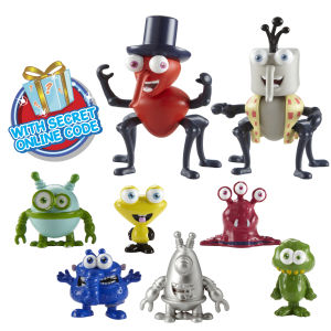 Paquet de Figurines Bin Weevil And Binbot