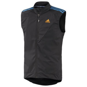 Adidas Tour Gilet - Black/Solar Blue
