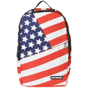 Sprayground USA Deluxe Backpack - Red/Blue/White