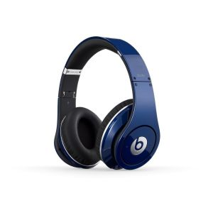 Beats by Dr. Dre: Studio Noise Cancelling HD Headphones with Microphone - Blue