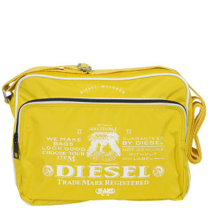 DIESEL POTSIE CROSSBODY BAG - YELLOW
