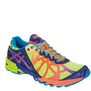 Asics Men's Gel Noosa Tri 9 Running Trainers - Yellow/Purple/Navy