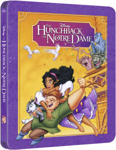 The Hunchback of Notre Dame - Zavvi Exclusive Limited Edition Steelbook (The Disney Collection #20)