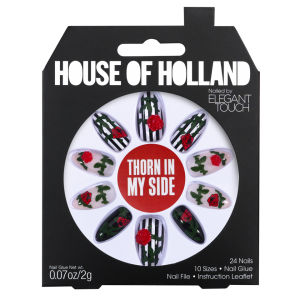 Ongles House of Holland Créés par Elegant Touch - Thorn in my Side
