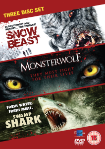 Creature Feature Verzameling (Snow Beast / Monsterwolf / Swamp Shark)