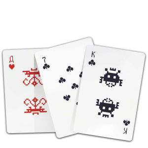 Alien Invaders Playing Cards