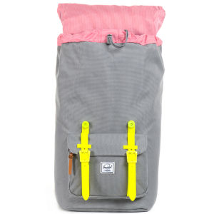 Herschel Supply Co. Little America Backpack - Grey/Yellow Rubber: Image 3