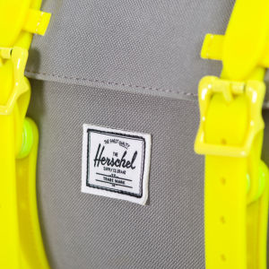 Herschel Supply Co. Little America Backpack - Grey/Yellow Rubber: Image 5