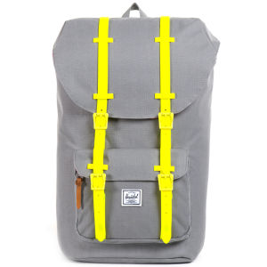 Herschel Supply Co. Little America Backpack - Grey/Yellow Rubber: Image 1
