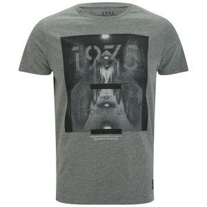 T-Shirt Homme Masque Jack & Jones - Gris