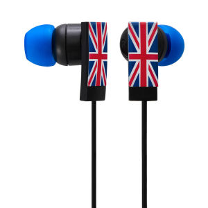 Groov-e Union Jack Designer In-Ear Earphones