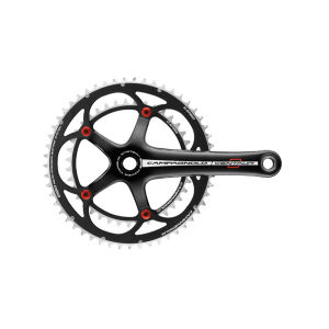 Campagnolo Centaur Alloy Chainset 10 Speed - Black/Red