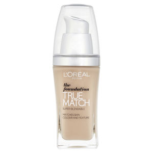 L'Oréal Paris True Match The Foundation SPF 17 (Various Shades)