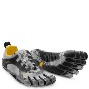 Vibram 5 Fingers Men's Bikila LS Running Trainers - Grey/Black