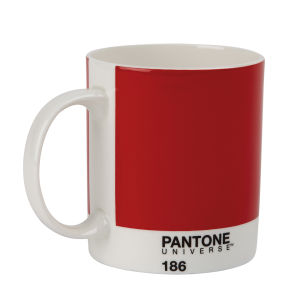 Pantone Mini Bone China Mug - Ketchup Red