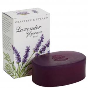 CRABTREE & EVELYN LAVENDER GLYCERINE SOAP (100G)