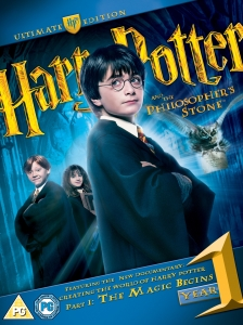 Harry Potter and the Philosopher's Stone: Ultimate Collector's Edition - Double Play (Blu-Ray and DVD)