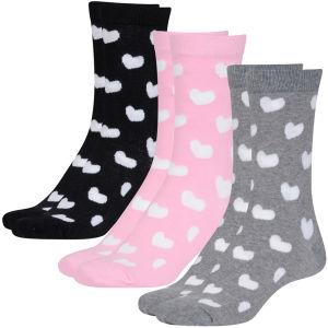 Pineapple Womens Ankle Socks - Heart Design