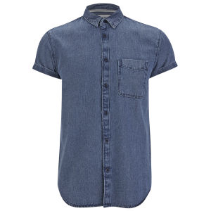 Jack & Jones Mens Leo Shirt - Dark Denim