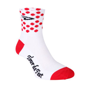 Defeet Polka Dot Jersey Cycling Socks