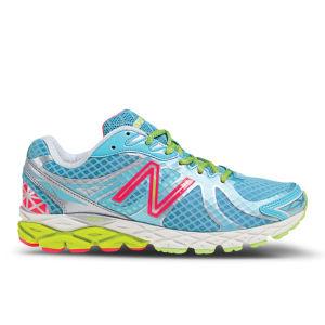 New Balance Women's NBX W870 V3 Light Stability Running Shoes - Blue/Silver