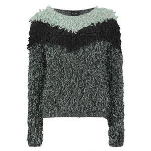 VILA Women's Truska Knitted Jumper - Grey