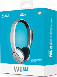 Official Wii U™ Turtle Beach Ear Force NLa Headset (White)