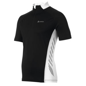 Odlo Action Ss Cycling Jersey - Black