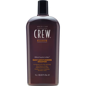 American Crew Daily Moisture Shampoo 1000ml (Worth $49.36)