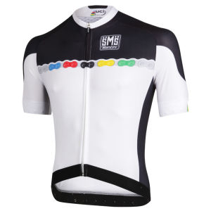 Santini UCI Fashion SS FZ Cycling Jersey - 2013