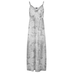 VILA Women's Crocco Maxi Dress - Snow White