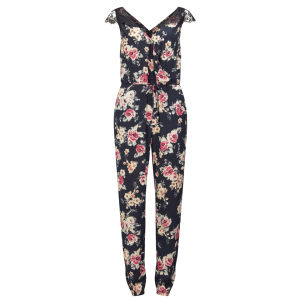 Girls On Film Women's Floral Jumpsuit - Multi