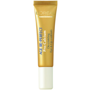L'Oreal Paris Dermo Expertise Age Re-Perfect Radiance Pro Calcium De-Crinkling Eye And Lip Contours (15ml)