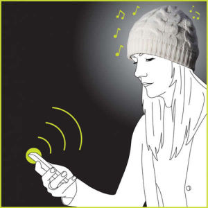 iMusic Knitted Hat - Wireless