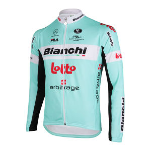 Bianchi Lotto Team LS Jersey - 2013