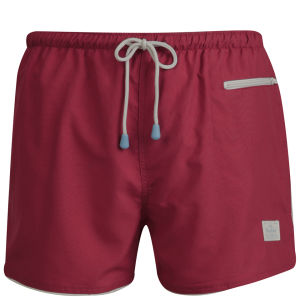 Oiler & Boiler Men's East Hampton Swim Shorts - Lollipop