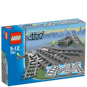 LEGO City: Les aiguillages (7895)