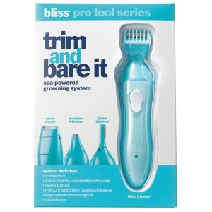 bliss Trim It and Bare It rasoio elettrico donna