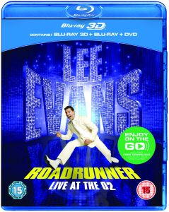 Lee Evans: Roadrunner - Live at O2 3D (Bevat 3D Blu-Ray, 2D Blu-Ray and DVD)
