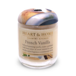 Heart & Home French Vanilla - Small Jar Candle