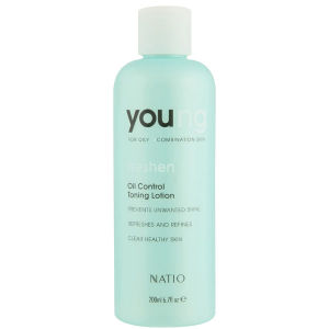 Loción Tonificadora Young Oil Control de Natio (200 ml)