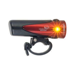 Light and Motion Urban 200 Ruby Front Cycle Light