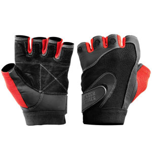 Better Bodies Pro Lifting Gloves - Black/Red