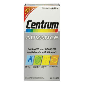 Comprimidos Multivitaminas Advance da Centrum - (60 Comprimidos)