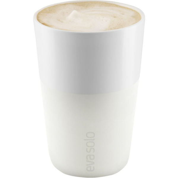 Eva Solo 360ml Café Latte Tumbler - Set of 2 - Ivory White