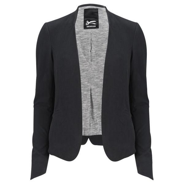 Denham Women's Vive CS Tailored Jersey Jacket - Black
